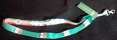 MEXICO Lanyard New World Cup Soccer Tickets ID Keys