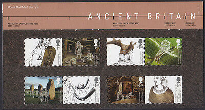 GB 2017 Ancient Britain unmounted mint stamp presentation pack #536