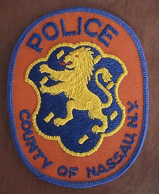 USA-Vintage New York Police County Of Nassau Police Department Law Enforcement
