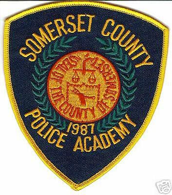 Somerset County Police Academy Police Patch