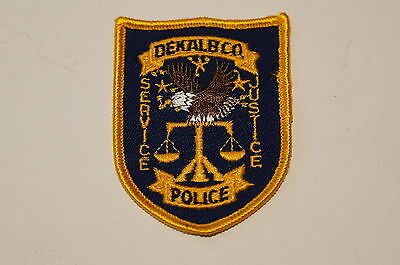 USA-Dekalb Co Justice Service Police Patch-SMALL
