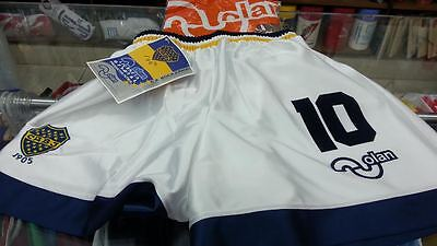 Original Olan Soccer Short Boca Juniors Size Xlarge Year 1995 Number10 Maradona