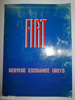 Fiat Exchange Parts Booklet 1967