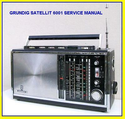 Grundig Satellit 6001 Shortwave  Service Manual