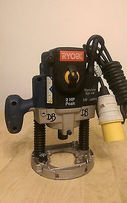 RYOBI RE-180 VARIABLE SPEED PLUNGE ROUTER 1200W 110v