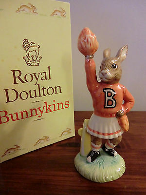 "Royal Doulton Bunnykins ""cheerleader""  Db142 Boxed"