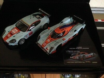 Scalextric Limited Edition Aston Martin Racing Boxed 2 Car Set C3055A Brand New