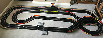 Scalextric Digital Very Large Layout with Lap Counter & 4 Cars