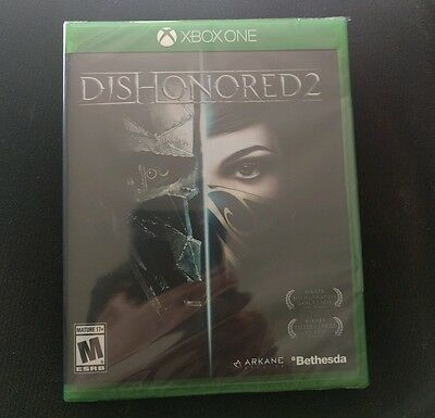 Dishonored 2: Limited Edition (Microsoft Xbox One, 2016) NEW
