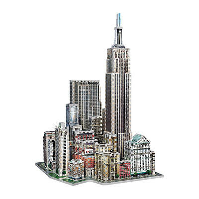Wrebbit 2011 Midtown West New York Collection 3D Jigsaw Puzzle - 900-Piece