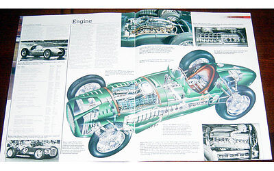 BRM V16 Type 15 Poster + Cutaway drawing
