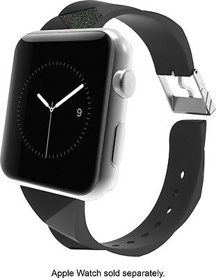 Case Mate CM032783 Facets Black Replacement Band for Apple Watch 38mm DH533