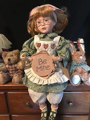 Boyds Yesterday's Child Doll LIMITED NEW Alyssa Rugby Carla A Stitch Time