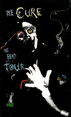 The Cure 1985 The Head Tour Concert Program Book / Robert Smith / Nm 2 Mint