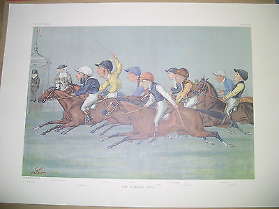 Vanity Fair Print Double A Winning Post  Horse Racing