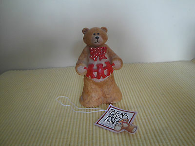 Vintage Bear Feet Family By Toscany 1985 Figure W Tag