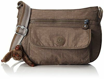 (TG. One Size) Marrone (Soft Earthy C) Kipling Syro - Borse a tracolla Donna, Br