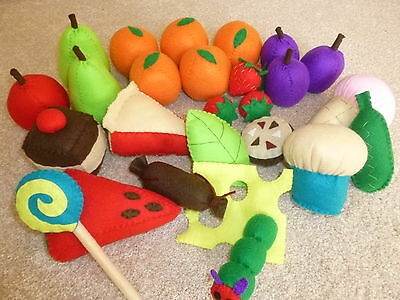SPECIAL OFFER The Very Hungry Caterpillar felt story resource - story sack, EYFS