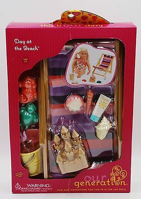 Our Generation Day at the Beach Accessories Set for 18 Inch Dolls