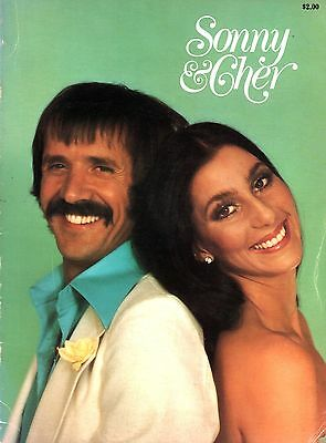 Sonny & Cher 1977 U.s. Tour Concert Program Book