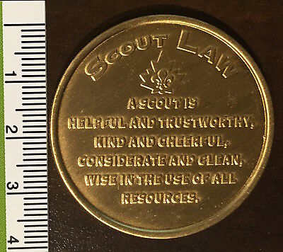 Scouts Coin - Scout Promise & Law - Canadian Coin