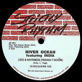 River Ocean & India - The Tribal EP / Love & Happiness - Strictly Rhythm #4989