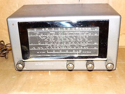 Hallicrafters 5R100A Tube Short Wave Receiver