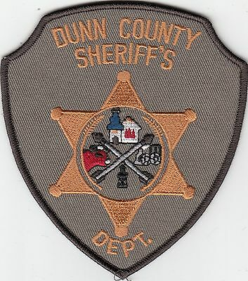 Dunn County Sheriff's Department North Dakota Nd Police Patch