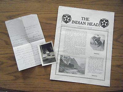 """2nd Division Iowa Veteran Photo and """"The Indian Head"""" 2nd Div Veterans magazine"""