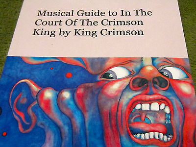 Musical Guide to IN THE COURT OF THE CRIMSON KING New BOOK Andrew Keeling FRIPP
