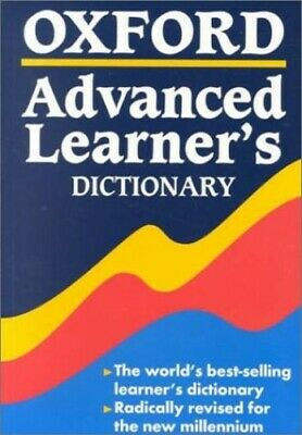 Oxford Advanced Learner's Dictionary, Hornby, A.S. Paperback Book The Cheap Fast