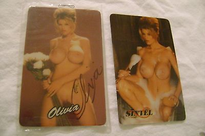 OLIVIA-(1994)Phone Cards Collection-Lot of 2 pieces-LIMITED EDIT.of 5000-NEW