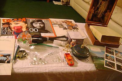 Vintage Junk Drawer Lot-LARGE Box Full of ITEMS-LOT # 323