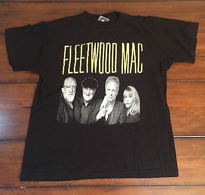 Fleetwood Mac 2014-2015 WORLD TOUR Concert T-Shirt Medium Stevie Nicks