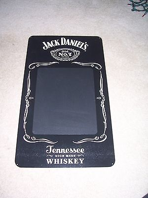 Jack Daniels Old No 7 Tennessee Whiskey Tin Sign Chalkboard New