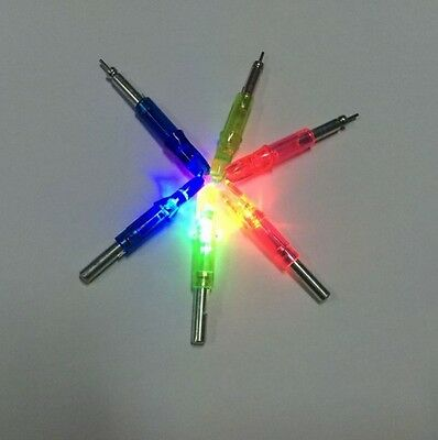 Lighted Nock Arrow Archery Fluorescent Hunting Bow Fishing Activated Illuminated