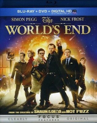The World's End [New Blu-ray] With DVD, UV/HD Digital Copy, 2 Pack, Slipsleeve