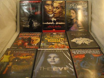 Lot Of Movies Used Assorted DVDs Good Condition ~ 16 Horror movies ~ See photos