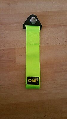 High Strength OMP Nylon Tow rope Racing Car Tow Straps Tow Ropes Hook Towing Bar