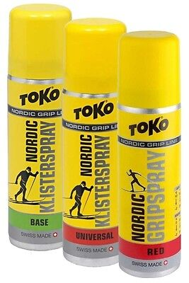 [15,23€/100ml] TOKO Nordic Grip Spray Set, 3x70ml
