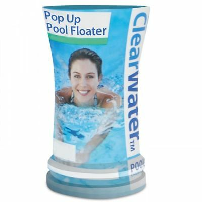 ClearWater Pre-Filled Pop Up Swimming Pool Floater