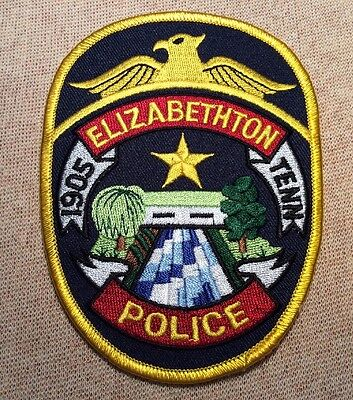 TN Elizabethton Tennessee Police Patch