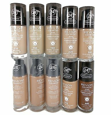 REVLON colorstay colourstay foundation 30ml with pump
