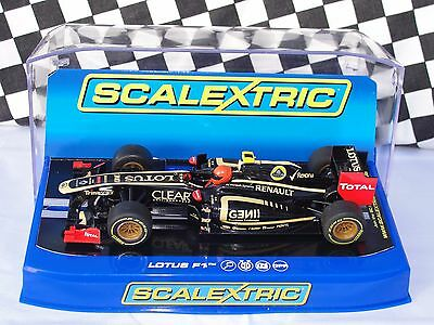 Scalextric Lotus F1   Black  #10  C3261  1.32  New Old Stock Boxed