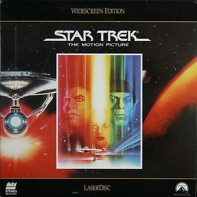 Doppel-LaserDisc LD STAR TREK: THE MOTION PICTURE Widescreen Edition