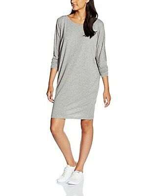 Grau (light grey mele 9402) (TG. 42) Blaumax Sophie, Vestito Donna, Grau (Light