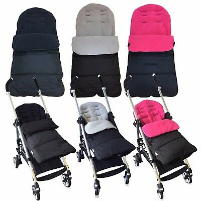 Universal Fleece Lined Luxury Pushchair/Stroller Footmuffs Cosy Toes (6 Colours)