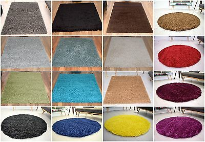 Modern Small Extra Large Shaggy Area Rugs Mat 5cm Thick Soft Pile Carpet Rug