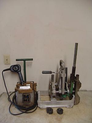 Mcelroy 2Lc Pipe Fusion Fusing Machine Hdpe Poly Welder With Inserts #3