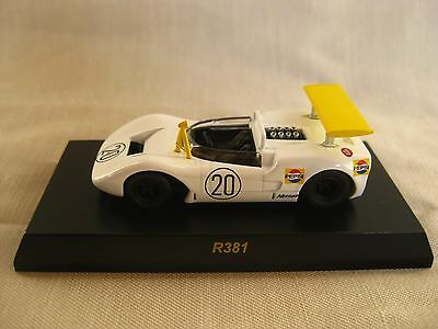 1:64 Kyosho Nissan R381 White Racing Diecast Model Car Collection Japan